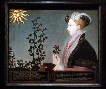 """""""Édouard VI"""", attribué à Guillim Scrots (dit aussi Stretes), vers 1547. Photo: Valérie Maillard"""
