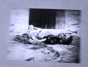 Exposition sur le génocide arménien à l'Hôtel de Ville. Photo: LSDP