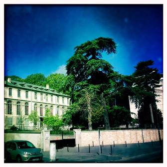 Collège arménien Samuel Moorat. Vue actuelle. Photo: LSDP