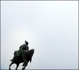 La statue d'Etienne Marcel. Photo: LSDP