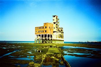 Estuaire de la Tamise. Isle of Grain. Photo: Elisabeth Blanchet