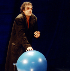 La vie de Galilée. Nicolas Bouchaud. Photo: Alain Dugas