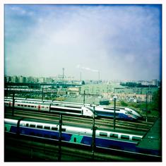 Vue depuis la Porte de Charenton. Photo: LSDP