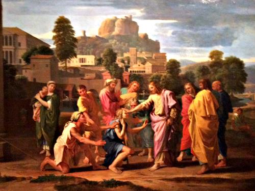 """""""Les Aveugles de Jéricho"""", 1650. Photo: Jade Soulet"""