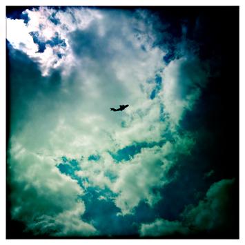 Démonstration aérienne dans le ciel de Dugny. Photo: LSDP