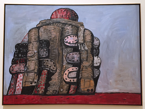 """Back view"", 1977, de Philip Guston. Photo: Valérie Maillard"