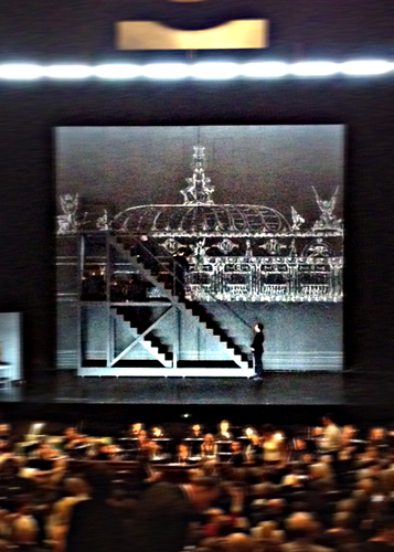 Alceste le lever de rideau. Photo: Guillemette de Fos