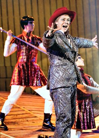 Xerxès à l'Opéra royal. Photo: Guillemette de Fos