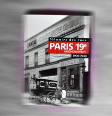 Mémoire des rues. Paris 19e. Photo: LSDP
