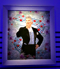 """""""La mode est éternelle Jean Paul Gaultier"""", Pierre et Gilles, 2014. Photo: Valérie Maillard"""