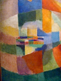Oeuvre de Sonia Delaunay. Photo d'archive: PHB/LSDP