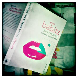 Le livre de Eve Babitz. Photo: PHB/LSDP
