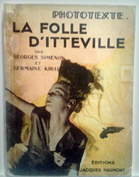 Germaine Krull. 1931. Photo: Lottie Brickert