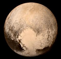 Pluton. Source images: Nasa