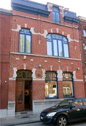 La maison où Magritte passa son adolescence. Ph. G. Goutierr