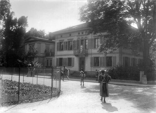 Vue de la Villa Flora vers 1900. Source: Archives Villa Flora