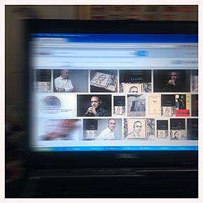 Sur le mur d'images Google. Photo: PHB/LSDP