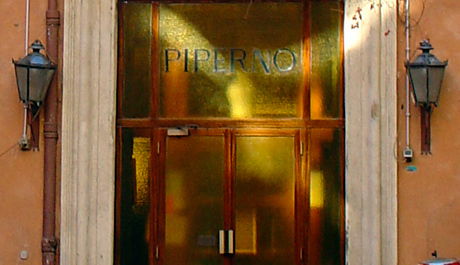 Chez Piperno, dans l'ancien ghetto à Rome. Photo: PHB/LSDP