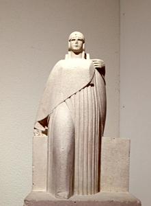 Sculpture de Raymond Delamarre. Musée Landowski. Photo: PHB/LSDP