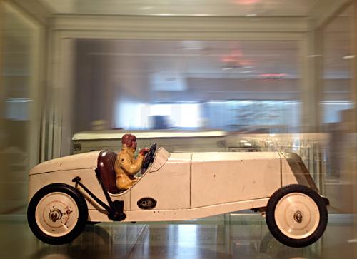 Jouet exposé au musée Landowski des années trente. Photo: PHB/LSDP