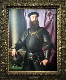 """Portrait de Stefano Colonna"", 1546, par Bronzino. Photo: Valérie Maillard"