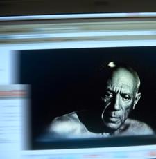 Photo tirée du film Picasso, naissance de l'icône. Photo: PHB/LSDP