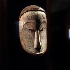 Masque africain. Musée Dapper. Photo: PHB/LSDP