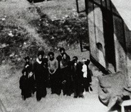 Détail d'une archive du camp de Montreuil-Bellay. archives Jacques Sigot