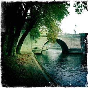 Bord de Seine au niveau de l'île Saint-Louis. Photo: PHB/LSDP