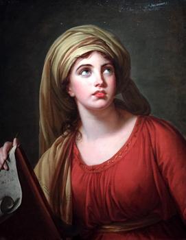 """Lady Hamilton en Sybille de Cumes"" (1792). Elisabeth Vigée Le Brun. Photo: Valérie Maillard"