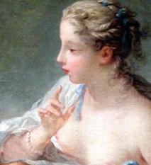Détail d'une oeuvre de Fragonard. Photo: PHB/LSDP