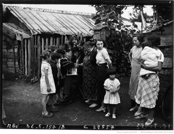 Réfugiés espagnols en 1936. Agence Meurisse. Source image: Gallica