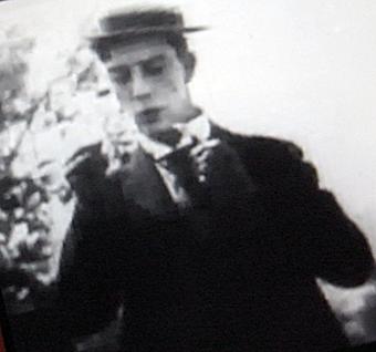 Buster Keaton sur Youtube. Photo: PHB/LSDP