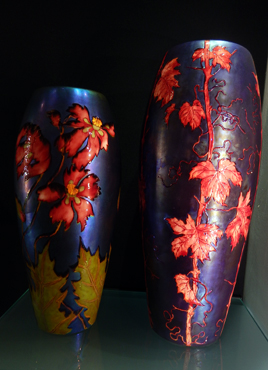 Céramiques de Zsolnay, collection Gyugyi. Photo: Lottie Brickert