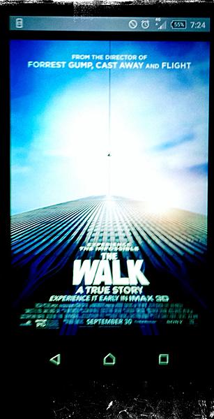 L'affiche du film depuis un smartphone. Photo: PHB/LSDP