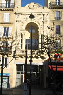 Façade de la Fondation Jérôme Seydoux Pathé. Photo: Baptiste Fauvel