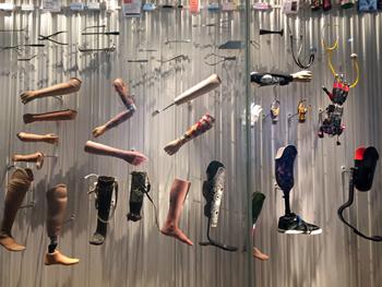 Ensemble de prothèses. Photo: Valérie Maillard