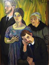 """""""Portrait de famille"""", 1912. Suzanne Valadon. Photo: Valérie Maillard"""