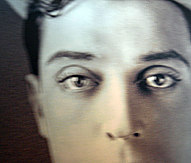 Buster Keaton (détail). Photo: PHB/LSDP