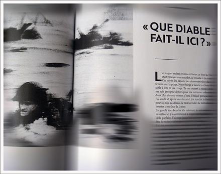 50e numéro de RSF, un témoignage sur Robert Capa. Photo: PHB/LSDP