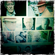 James Salter sur le mur de Google images. Photo: PHB/LSDP