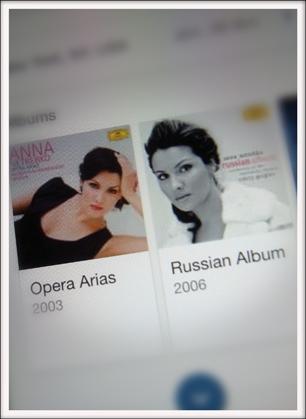 Anna Netrebko, images sur smartphone. Poto: PHB/LSDP