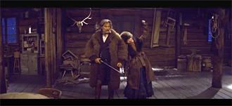 """Image tirée de la bande-annonce des """"Huit salopards"""". (Capture d'écran)"""
