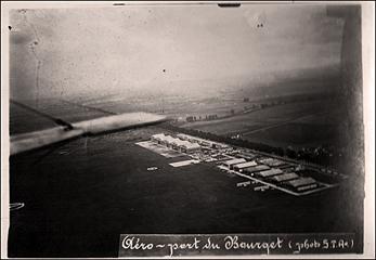 L'aéroport du Bourget à ses débuts. Collection: PHB/LSDP