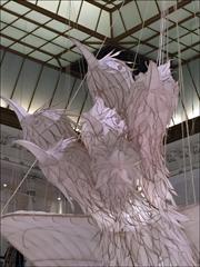 Oeuvre d'Ai Weiwei au Bon Marché. Photo: Valérie Maillard