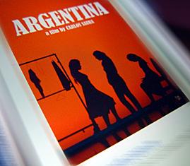 Argentina. Vue partielle de l'affiche. Photo: PHB/LSDP