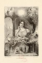 """Madame Malibran [rôle de Desdémone dans """"Otello"""" de Rossini] / Benoist, Gérard. Source: Gallica"""