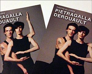 Prospectus du spectacle. Photo: Célia Breton