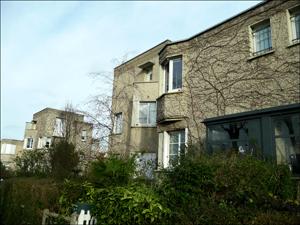 Le Pré-Saint-Gervais. Les pavillons en 2016_ les vérandas sont récentes. Photo: MFL