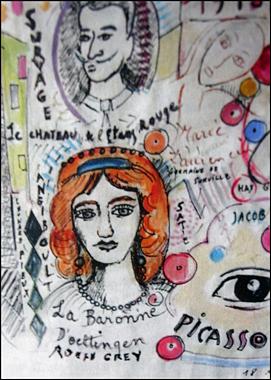 Détail d'une illustration de Madeline Ravary pour son livre. Photo: PHB/LSDP